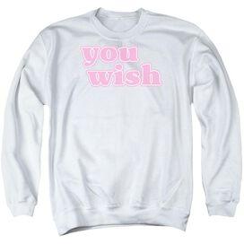 You Wish - Adult Crewneck Sweatshirt - White