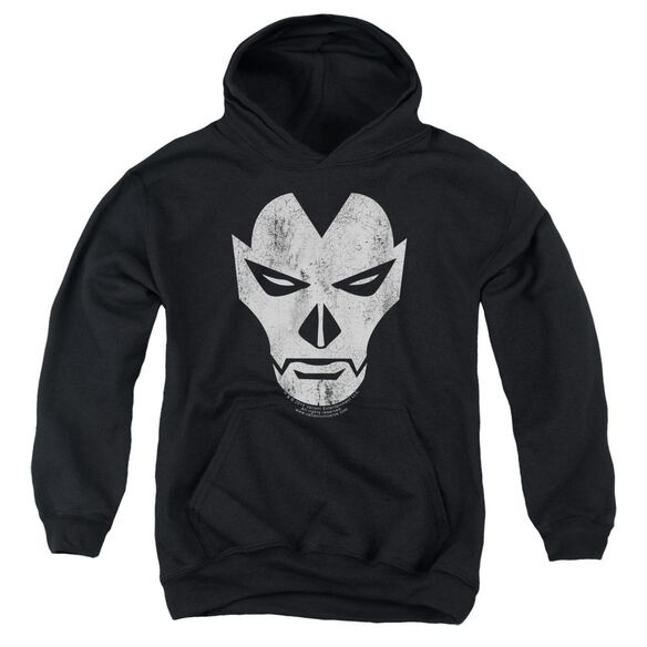 Shadowman Face Youth Pull Over Hoodie
