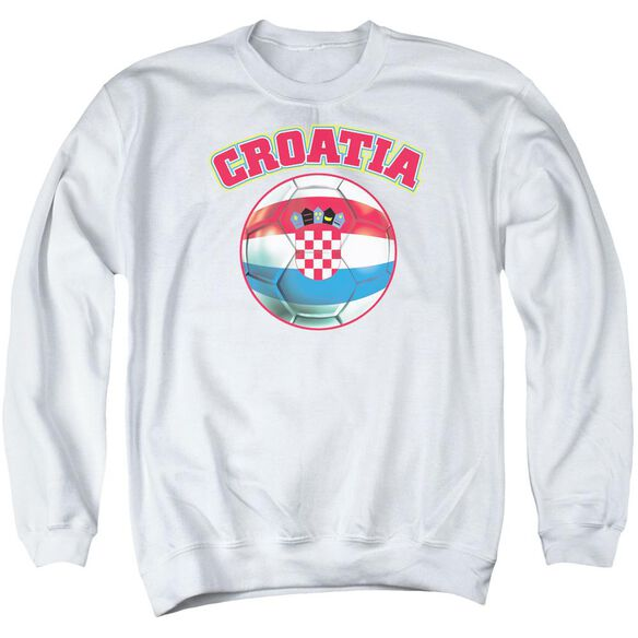 Croatia Adult Crewneck Sweatshirt