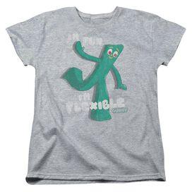 Gumby Flex Short Sleeve Womens Tee Athletic T-Shirt