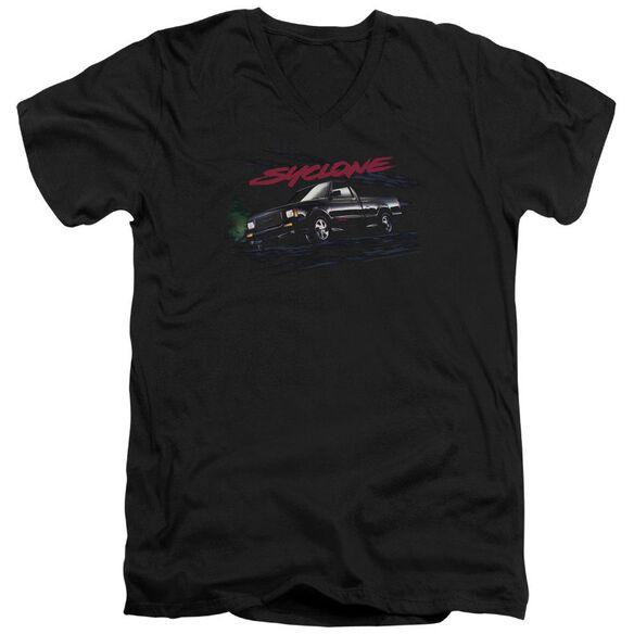 Gmc Syclone Short Sleeve Adult V Neck T-Shirt
