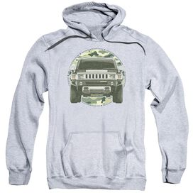 Hummer Lead Or Follow Adult Pull Over Hoodie Athletic