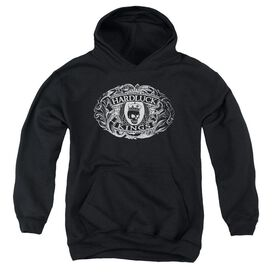 Hardluck Kings Oval Logo Youth Pull Over Hoodie
