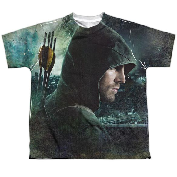 Arrow Hero Short Sleeve Youth Poly Crew T-Shirt