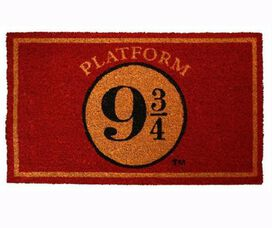 Harry Potter Platform 9 3/4 Doormat