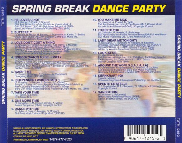 Spring Break Dance Party