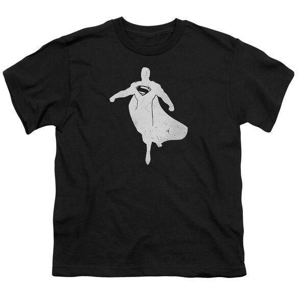 Batman V Superman Superman Silhouette Short Sleeve Youth T-Shirt