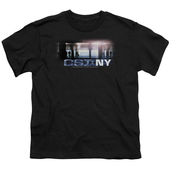 CSI NEW YORK SUBWAY - S/S YOUTH 18/1 - BLACK T-Shirt