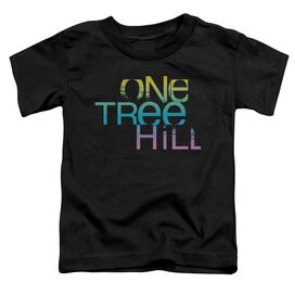 One Tree Hill Color Blend Logo Short Sleeve Toddler Tee Black Sm T-Shirt