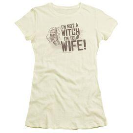 Princess Bride Not A Witch Short Sleeve Junior Sheer T-Shirt
