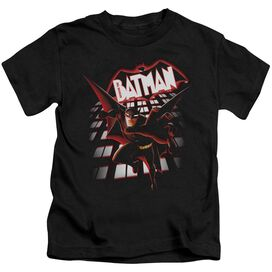Beware The Batman From The Top Short Sleeve Juvenile T-Shirt