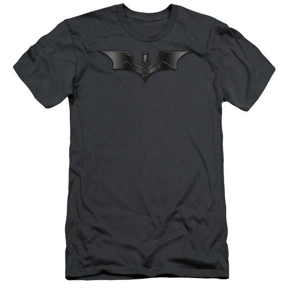 Dark Knight Carbon Fiber Shield Short Sleeve Adult T-Shirt
