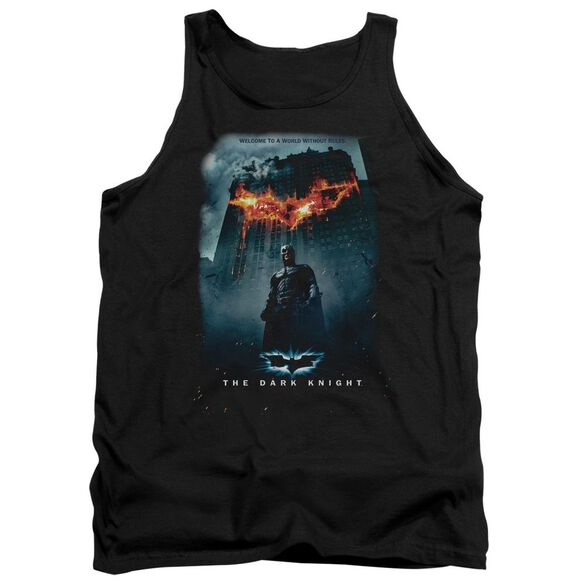 Dark Knight Without Rules Poster Adult Tank