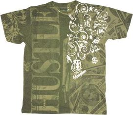 Scarface Money Hustle T-Shirt Photo Sheer