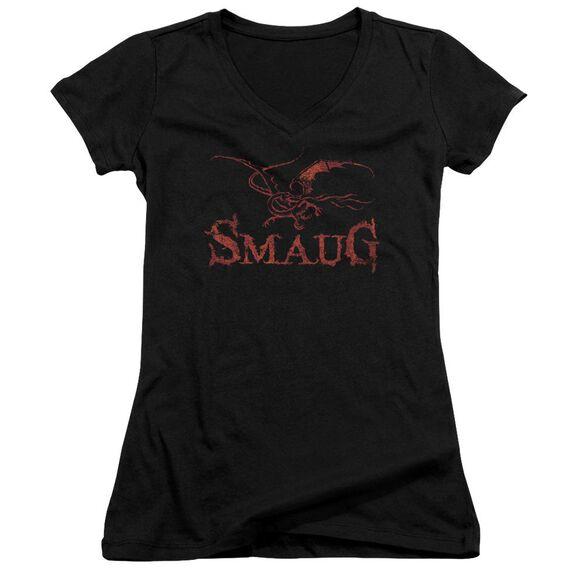 Hobbit Dragon Junior V Neck T-Shirt