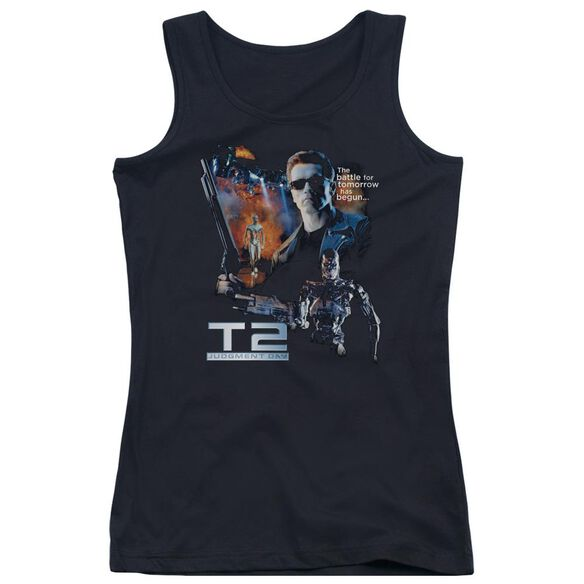 Terminator 2 Battle Juniors Tank Top