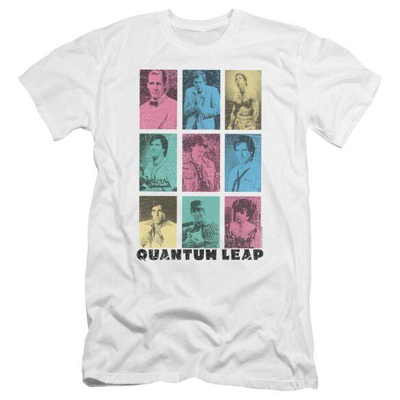 Quantum Leap Faces Of Sam Premuim Canvas Adult Slim Fit