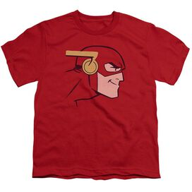 Jla Cooke Head Short Sleeve Youth T-Shirt