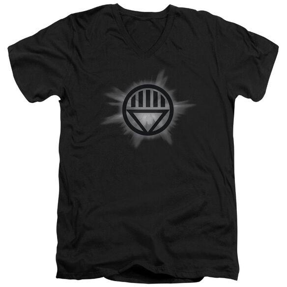 Green Lantern Glow Short Sleeve Adult V Neck T-Shirt