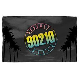 Beverly Hills 90210 Palms Logo Beach Towel