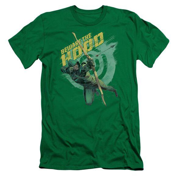 Arrow Beware Short Sleeve Adult Kelly T-Shirt