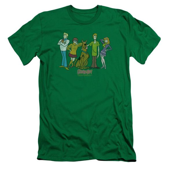 Scooby Doo Scooby Gang Short Sleeve Adult Kelly T-Shirt