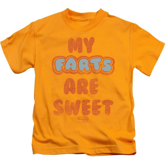 Farts Candy Sweet Farts Short Sleeve Juvenile T-Shirt