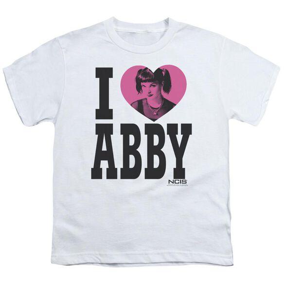 Ncis I Heart Abby Short Sleeve Youth T-Shirt