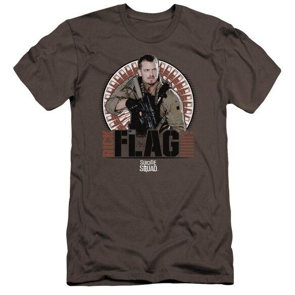 Suicide Squad Rick Flagg Bullets Premuim Canvas Adult Slim Fit