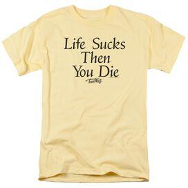 Teen Wolf Life Sucks Short Sleeve Adult T-Shirt