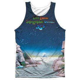 Yes Topographic Oceans Adult 100% Poly Tank Top