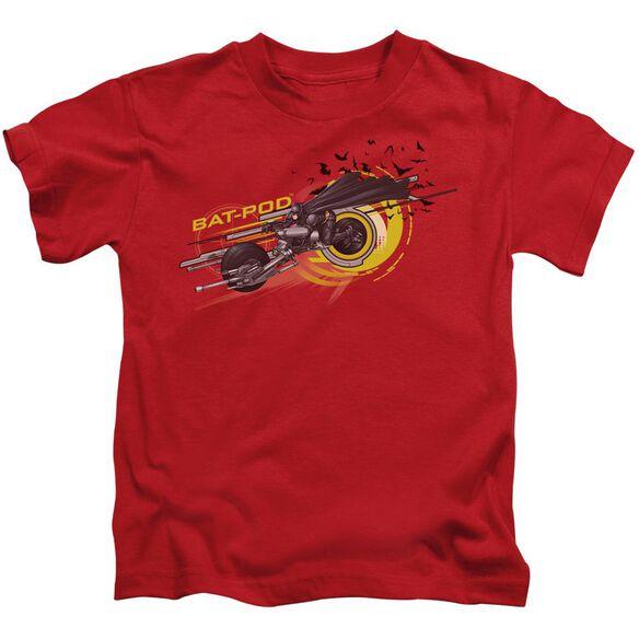Dark Knight Bat Pod Short Sleeve Juvenile T-Shirt