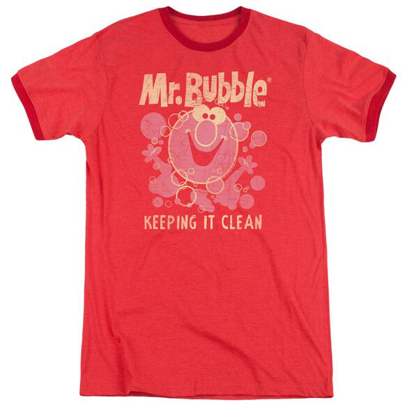 Mr Bubble Keeping It Clean Adult Heather Ringer
