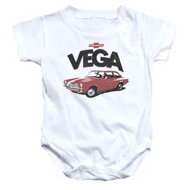Chevrolet Rough Vega Infant Snapsuit White
