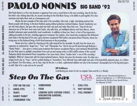 Paolo Nonnis - Step on the Gas