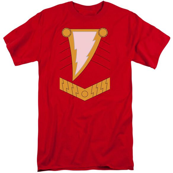 Jla Shazam Short Sleeve Adult Tall T-Shirt
