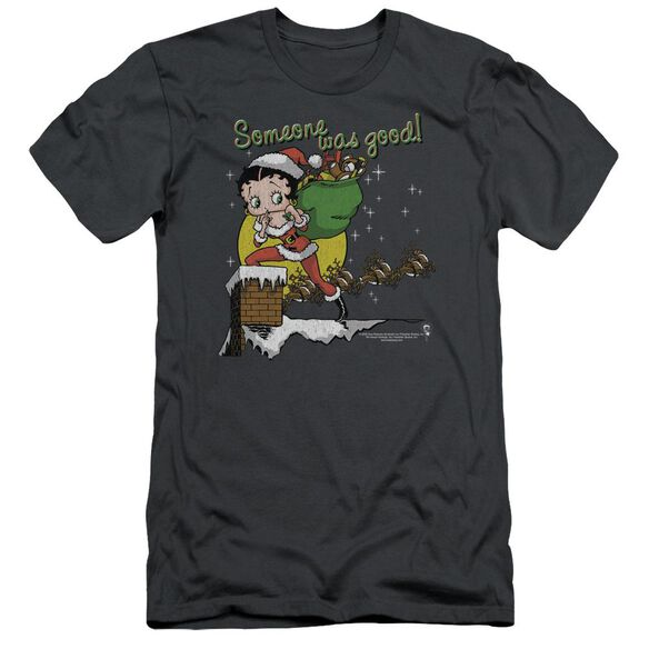 Betty Boop Chimney Short Sleeve Adult T-Shirt
