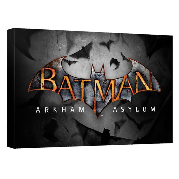 Batman Arkham Asylum Logo Quickpro Artwrap Back Board