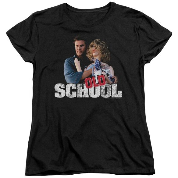 Old School Frank And Friend Short Sleeve Womens Tee T-Shirt