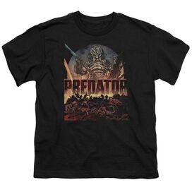 Predator Battle Short Sleeve Youth T-Shirt