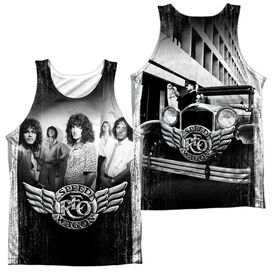 Reo Speedwagon Want A Ride (Front Back Print) Adult Poly Tank Top