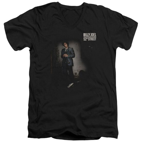 Billy Joel 52 Nd Street Short Sleeve Adult V Neck T-Shirt