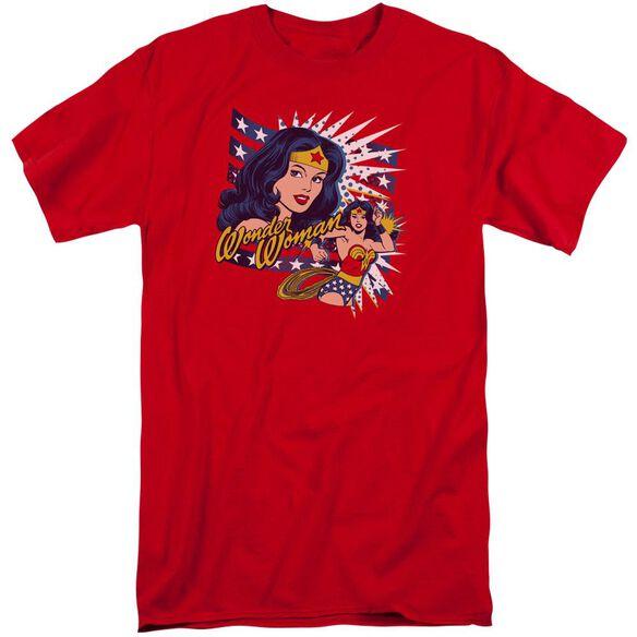 Dco Pop Art Wonder Short Sleeve Adult Tall T-Shirt