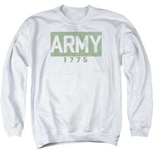 Army Block Adult Crewneck Sweatshirt