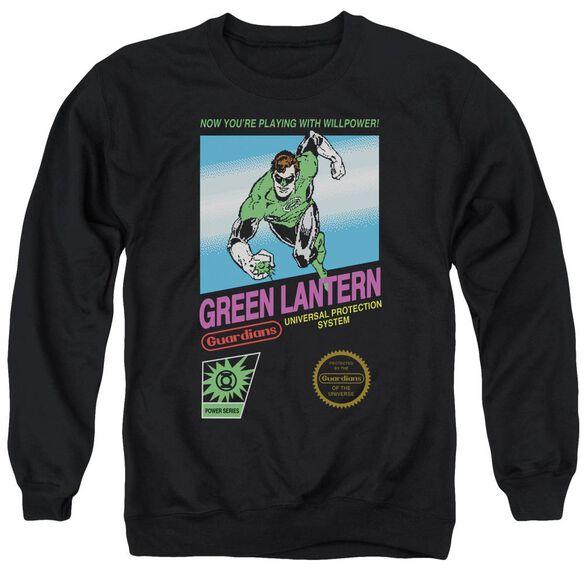 Green Lantern Box Art Adult Crewneck Sweatshirt