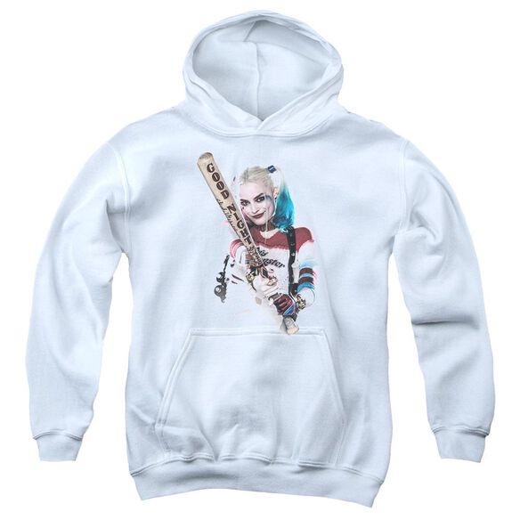 Suicide Squad Bat At You Youth Pull Over Hoodie