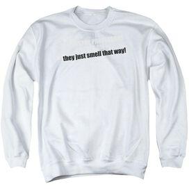 American Pie Pie Poster - Adult Crewneck Sweatshirt - White