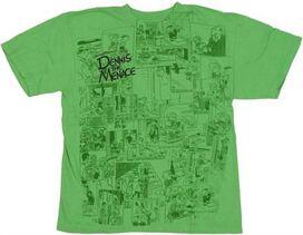 Dennis the Menace Comic Youth T-Shirt