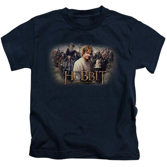 The Hobbit Hobbit Rally Short Sleeve Juvenile Navy Md T-Shirt