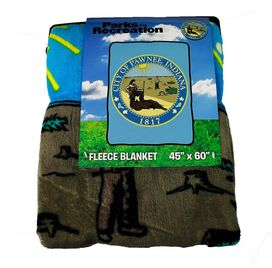 Parks and Recreation - Pawnee Fleece Blanket
